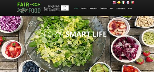 Il sito di Fairfood apre in lingua inglese