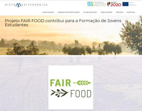 Projeto FAIR FOOD contribui para a Formação de Jovens Estudantes