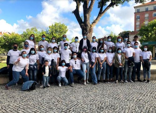 Flash mob with marketing students surprises Aveiro