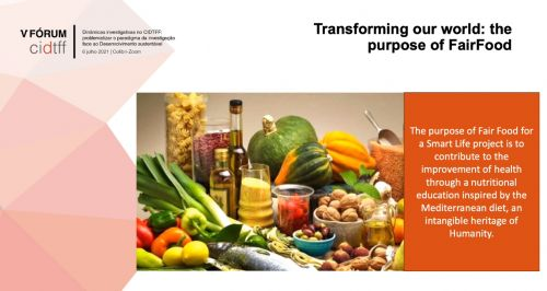 FairFood for a Smart Life: a paradigm for a sustainable development