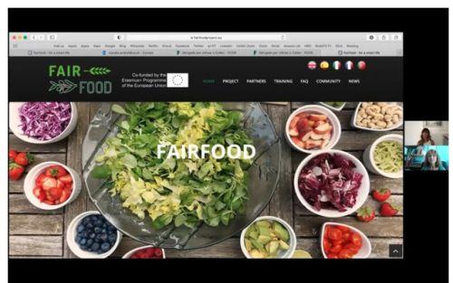 Fair Food for a Smart Life apresentado à comunidade científica da UA
